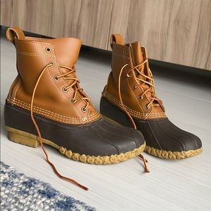 """Bean Boots Thinsulate Lined 8"""""""